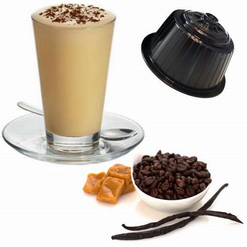 Cappuccino Vanille, capsules compatibles Dolce Gusto