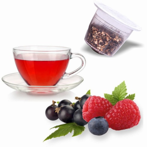 Tisane  relax Fruits Rouges compatible NESPRESSO®